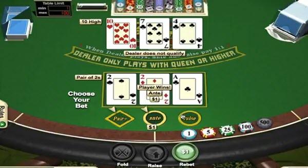 Live 3 Card Poker πονταρισματα