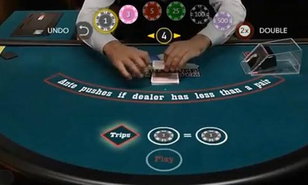 πως παίζετε το Live Ultimate Texas Hold'em ποκερ