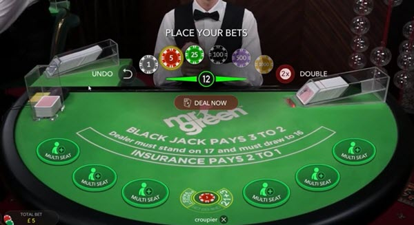 live Blackjack για αρχάριους