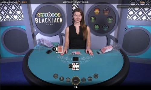All Bets blackjack table