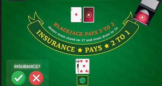 Μπλάκτζακ Insurance