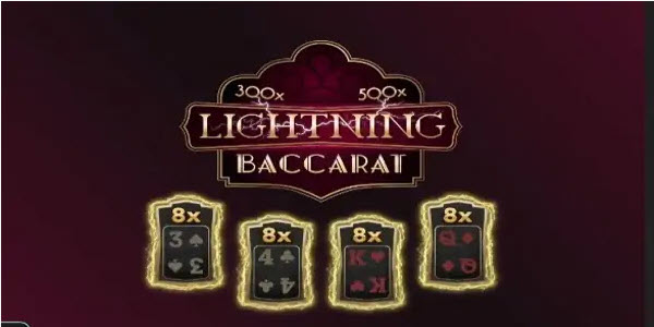 Live Lighting Baccarat της Evolution