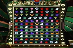 Γύρος μπόνους Cash Hunt